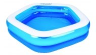 Бассейн семейный Jilong Giant Hexagon Pool  синий JL017222NPF